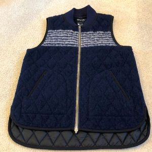 Madewell Copeland Reversible Quilted Vest XS